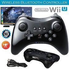New Black Wireless Gamepad Joypad Hand Controller Remote For Nintendo Wii U Pro