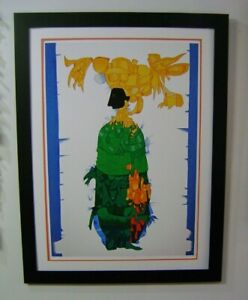 "CUBAN ART BY CUNDO BERMUDEZ!! O/E. SERIGRAPH ON COTTON PAPER""MARIA AMENAZADA"""