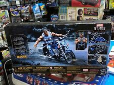 Marvel Legends Riders Series 6 Inch Wolverine Figure with Motorcycle New Sealed