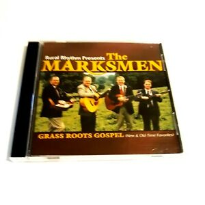 The MARKSMEN CD New & Old Time Favorites Grass Roots Gospel 2003 Music