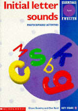 Initial Letter Sounds: Key Stage 1 by Dee Reid, Jane Whitwell, Diana Bentley,...