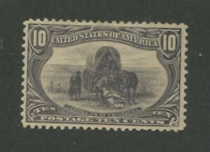 1898 United States Postage Stamp #290 Mint Hinged VF Original Gum