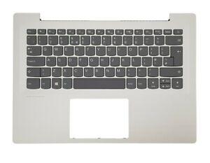 Lenovo IdeaPad 320S-14IKB Palmrest UK Keyboard (No-Touchpad) 5CB0N78301 Silver