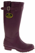 Womens WETLANDS Rubber yard Wellies Ladies Wellington Boots Festival Garden Size
