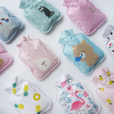 Portable Cartoon small Hot Water Bottle Bag Warm Relaxing Heat Cold Therapy Gift