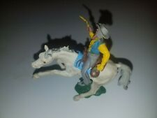 BRITAINS LTD. COWBOY  ON BUCKING HORSE YELLOW SHIRT