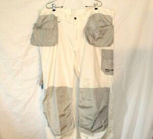 Helly Hansen C64 Construction Painter Pants White Size 44x34