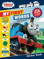 Thomas & Friends: My First Words Sticker Book by Egmont Publishing UK, NEW Book,