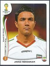PANINI WORLD CUP 2014- #460-IRAN-JAVAD NEKOUNAM