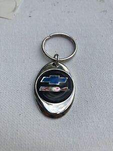 Chevy Z24 Keychain Lightweight Metal Shiny Chrome Style Finish Key Chain