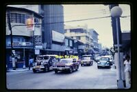 Street Scene & Cars in the Philippines in 1970's, Original Slide aa 2-18a