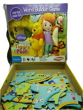 Disney My Friends Tigger & Pooh Word Building Game Preschool Playskool 3 & Up