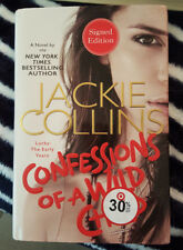 *SIGNED* JACKIE COLLINS - CONFESSIONS OF A WILD CHILD 1ST ED. MINT COND.
