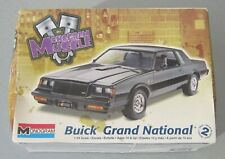 Vintage 1987 BUICK GRAND NATIONAL 1:24 scale MODEL KIT Monogram Muscle UNBUILT