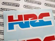 6 X HRC STICKERS HONDA RACING
