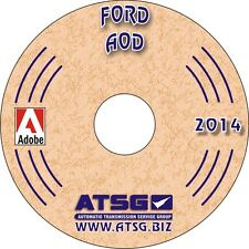 ATSG Ford AOD Transmission Rebuild Instruction Service Tech Manual Book CD 76400