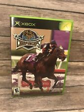 Breeders' Cup World Thoroughbred Championships Complete CIB Manual Original Xbox