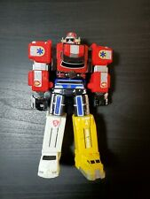 "1999 6"" LIGHTSPEED MEGAZORD Power Rangers Rescue Action Figure Bandai MMPR"