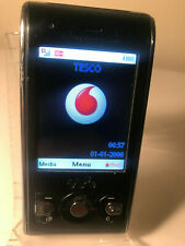 Sony Ericsson Walkman W595 - Black & Red (Unlocked) Mobile Phone Slider