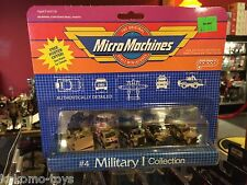 1998 Galoob Micro Machines Collection Set MOC - #4 MILITARY I COLLECTION