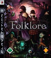 Folklore Sony PlayStation 3 PS3 ungelöste Mordserie Game Spiel Dt Ware Neu OVP
