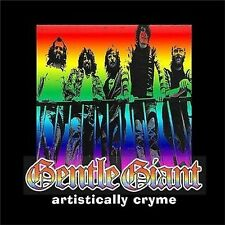 Gentle Giant Artistically Cry Live 2-CD NEW SEALED 2003