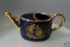 """LIMOGES CASTEL MINI """"WATERING CAN ACCEPTANCE MOTIF BLUE LIMOGES"""" WCAN  NOT BOXED"""