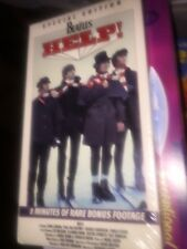BEATLES HELP Special Edition VHS NEW SEALED