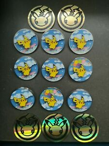 9x Pikachu Pins / Deluxe Pin Collection & 5 Pokemon Buttons - CELEBRATIONS 25th