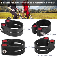 35mm/31.8mm/27.2mm/31.6/30.8mm MTB Bike Cycling Saddle Bicycle Seat Post Clamp