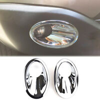 For Nissan Qashqai / +2 / Dualis J10 2010-2013 Chrome Front Fog Light Cover Trim