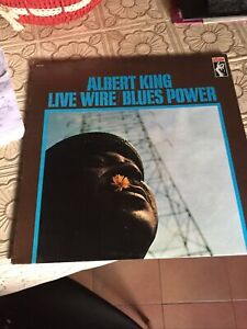 ALBERT KING - LIVE WIRE/BLUES POWER  LP - RISTAMPA MADE IN USA