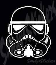 2 STAR WARS STORMTROOPER Vinyl Decals Stickers - Many Colors!  storm trooper