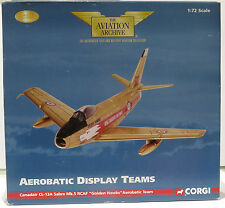"AA35806 1/72nd SCALA CANADAIR CL-13A Sabre Mk.5 ""GOLDEN Hawks'S AEROBATIC TEAM"