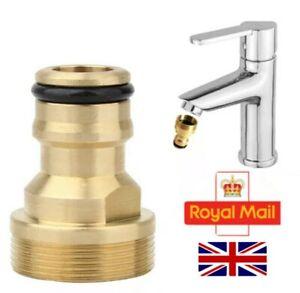 Kitchen Tap Connector Mixer Garden Hose Adaptor Pipe Joiner Fitting UK