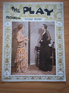 THE PLAY PICTORIAL Issue 341 Petticoat Influence - Diana Wynyard, Jane Millican
