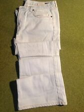 "MIU MIU - PAIR OF COUTURE ""D. BLEACH OUT"" FLARED DENIM JEANS - SIZE 36 ""VINTAGE"""