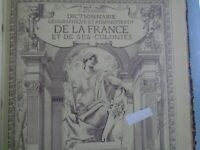 P. JOANNE- DICTIONNAIRE GEOGRAPHIQUE ET ADMINISTRATIF DE LA FRANCE-HACHETTE-1897