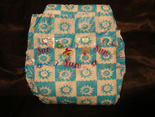 Vintage Sun Baby Diaper for Boys & Girls Tri-fold Size L Plastic Backed