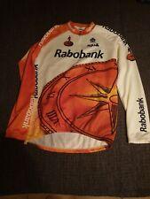 Bicicleta de carreras camiseta rabobank Colnago agu de situación aterrizar, con brazos largos