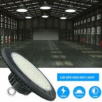 200W UFO LED Highbay Lights Sensor 120LM/W AC100-277V Industrial LED Lamps IP65