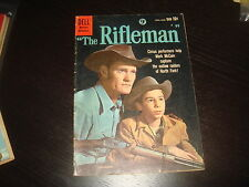THE RIFLEMAN #3  Western, Cowboy Silver Age Dell Comics VG+/FN- 1960