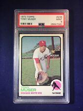 1973 Topps Tony Muser #238 PSA 9 Chicago White Sox