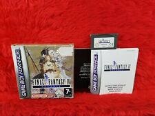 Gameboy Advance FINAL FANTASY IV *x Boxed & Complete GBA PAL
