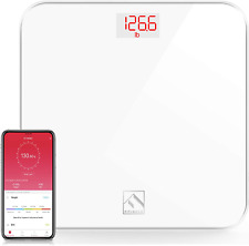 Fitindex Smart Digital Body Weight Scale, Bmi Bathroom Scale With Smartphone ...