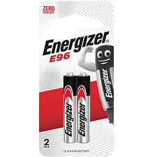 2 x AAAA Energizer 1.5v  Batteries MN2500 JABRA E96 LR61