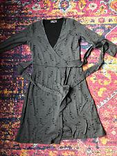 Ibex Wool Wrap Dress Xs
