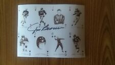 JIM BROWN Autographed Picture