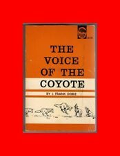 RARE BOOK-VOICE OF THE COYOTE-ILLUSTRAT OLAUS J.MURIE%FRANK DOBIE-SOUTHWEST LIFE