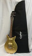 HAMER XT SERIES, 6 STRINGS GOLD ELECTRIC GUITAR MADE IN INDONESIA